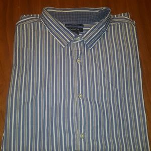 Claiborne 80's 2-PLY Slim Fit Shirt